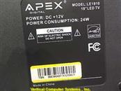 APEX Flat Panel Television LE1910